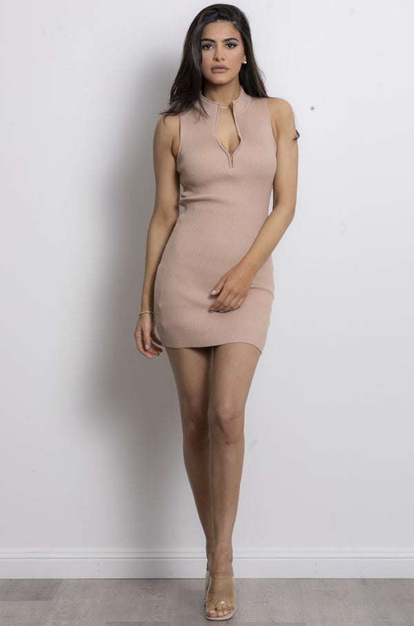 Zia Dress- Camel.