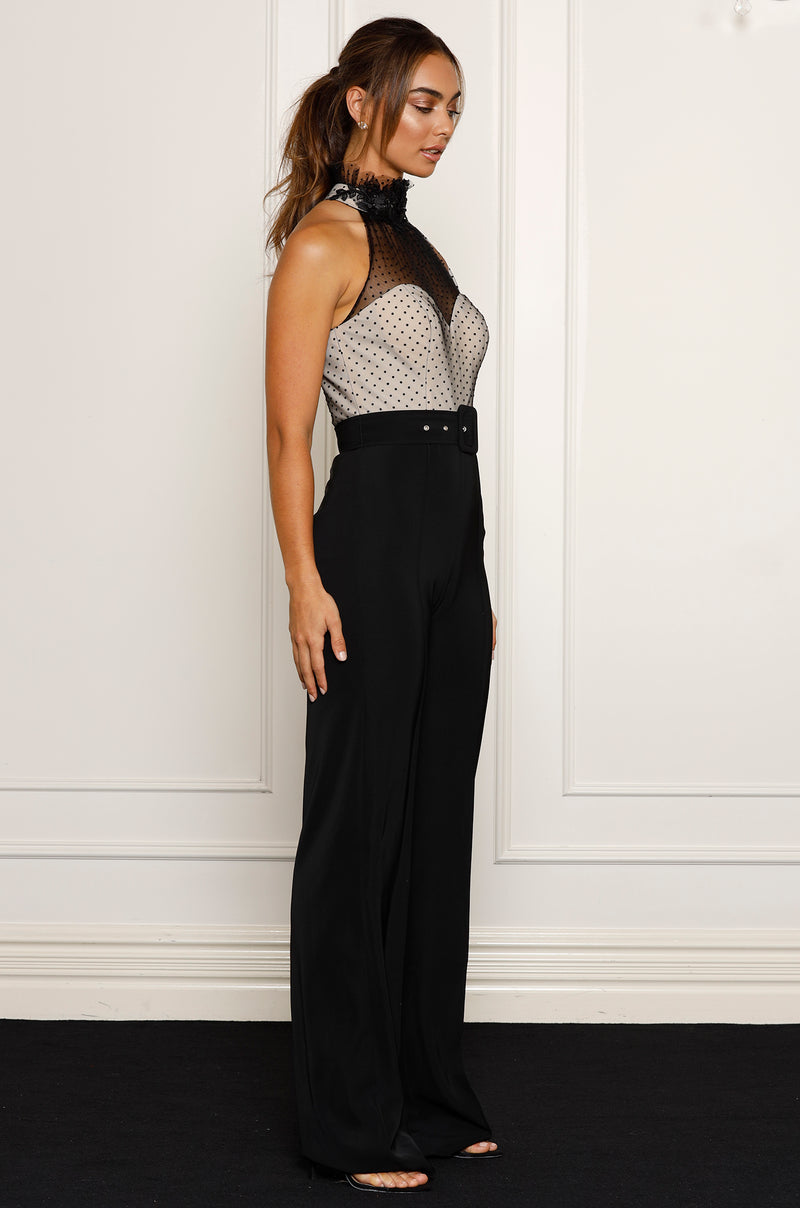 Ivy Jumpsuit- Black.