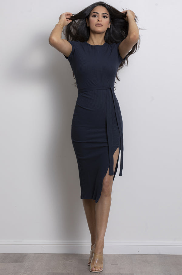 Millia dress-Navy.