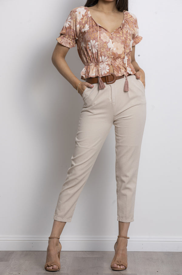 Safari Pants- Beige.