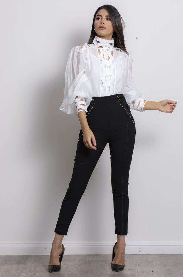 Harlow Blouse- White.