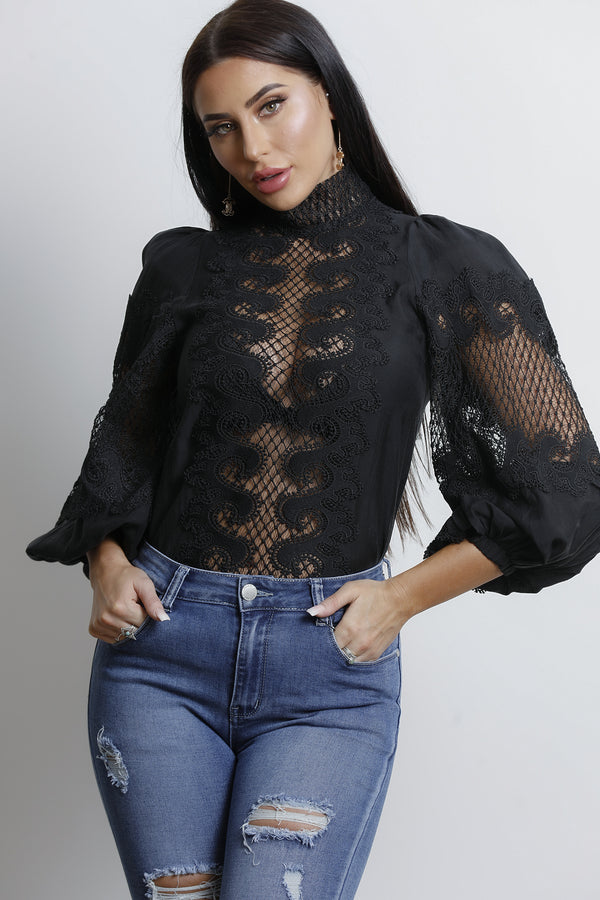 Bailey Top- Black.