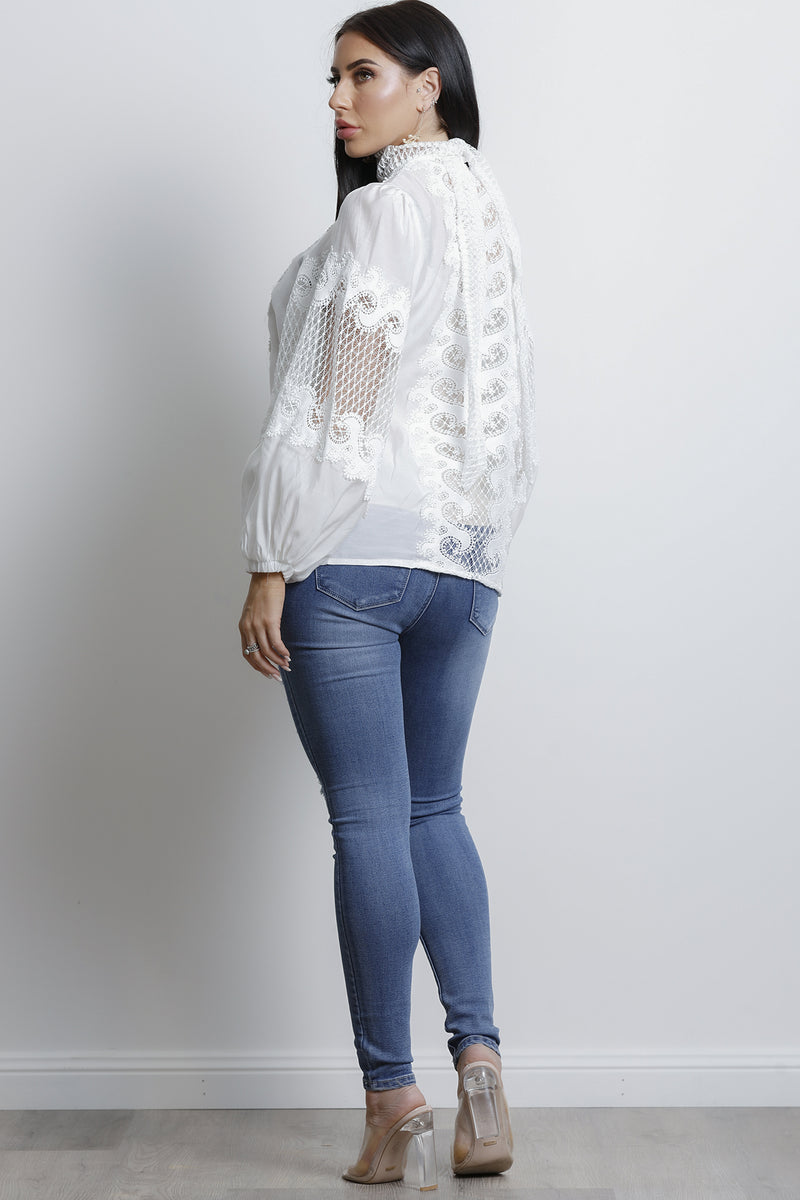 Bailey Top- White.