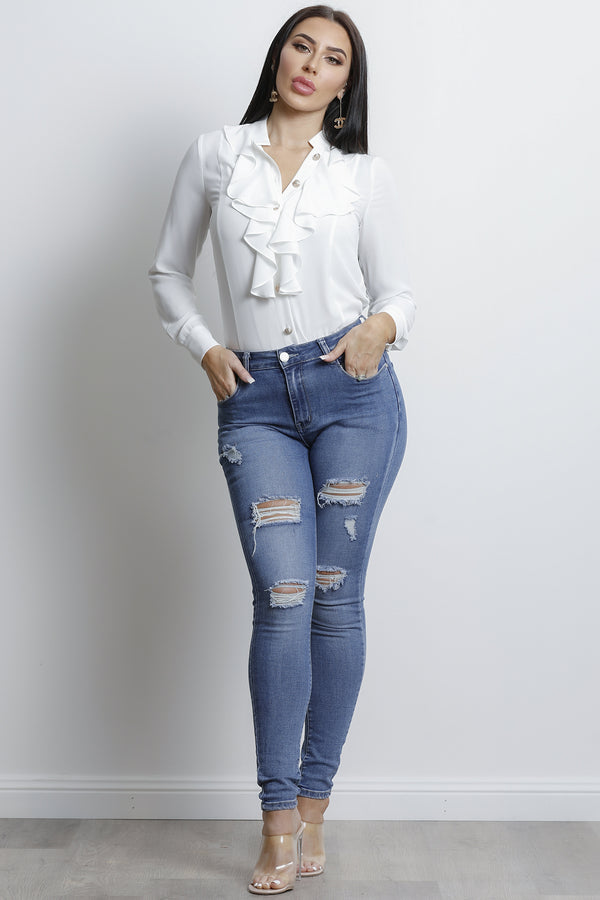 Rola Blouse- White.