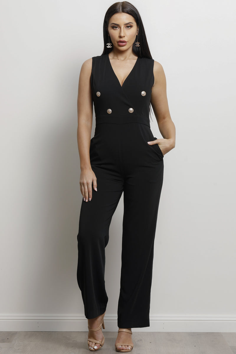 Yves Jumpsuit- Black.