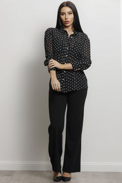 Dora Blouse- Black.