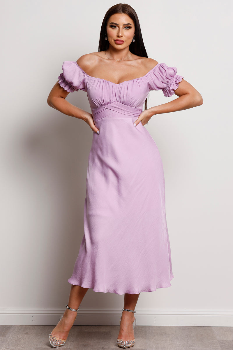 Kaylee Dress- Lilac.