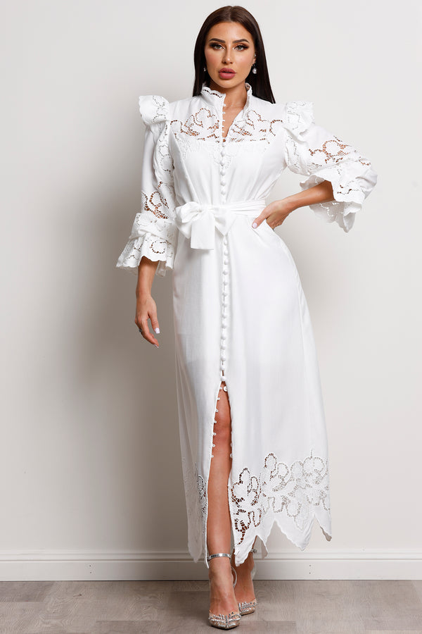 Grace Maxi Dress- White.