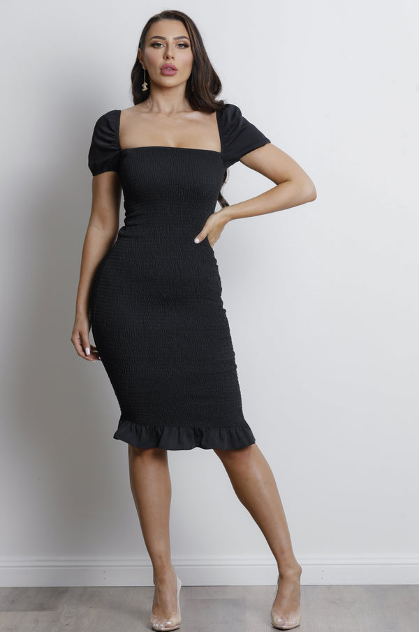 Sweet Soul Dress- Black.