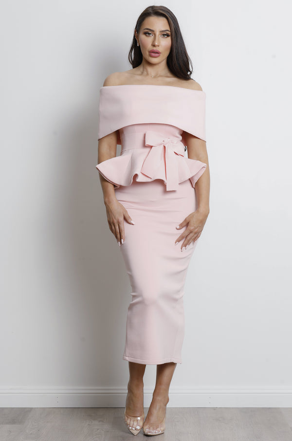Juliana Two Piece Set - Pink.