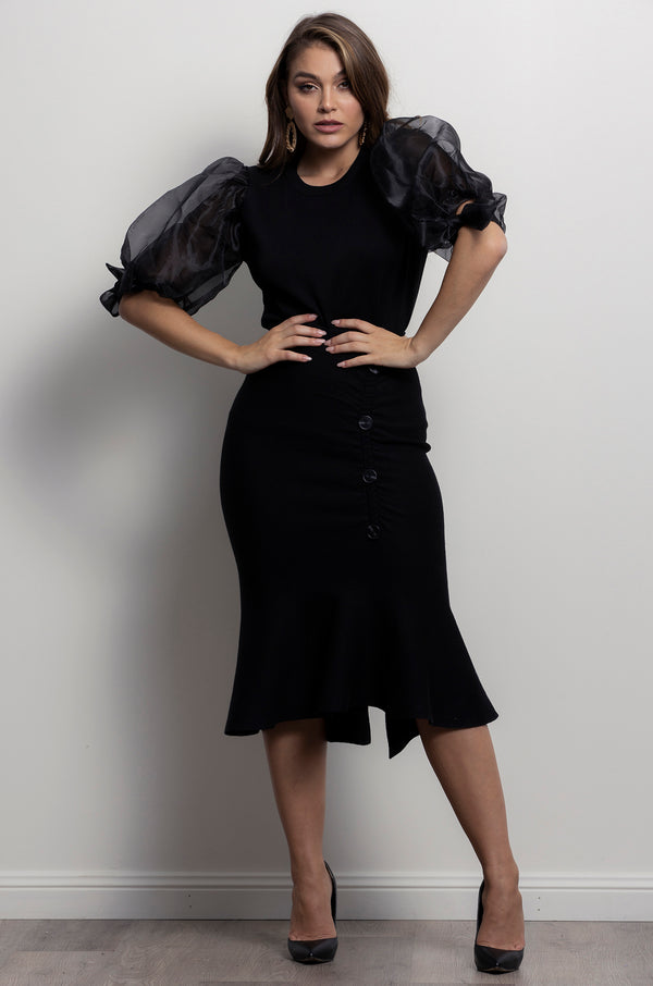 Ivanah Skirt- Black.