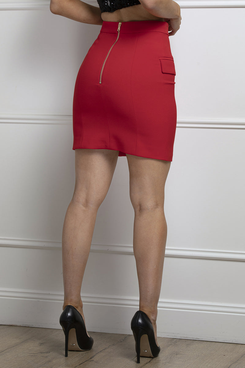 Charny Skirt- Red.