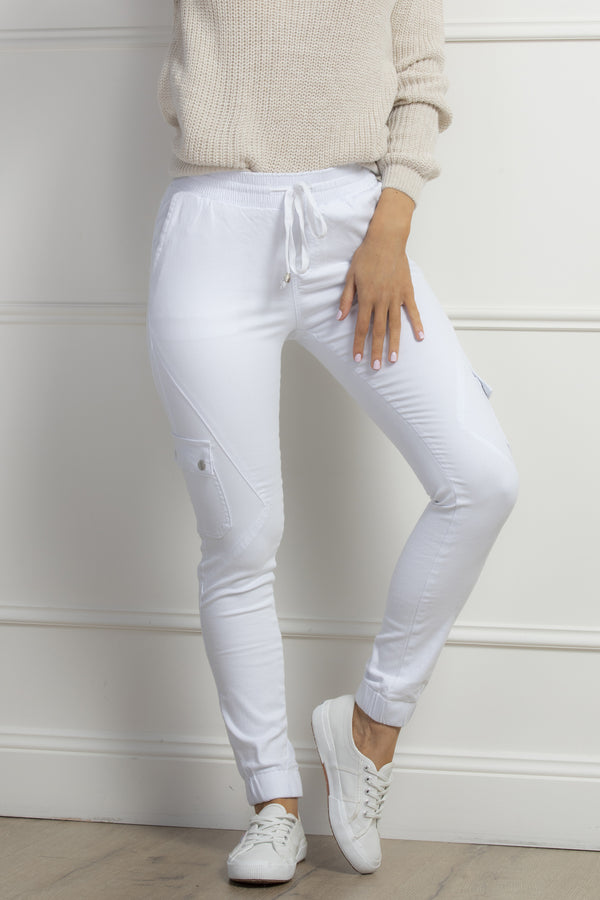 Brooklyn Jeans-White.