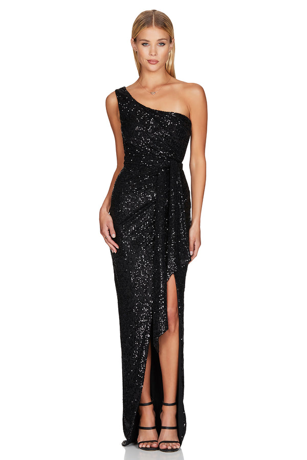 Palazzo Gown - Black.