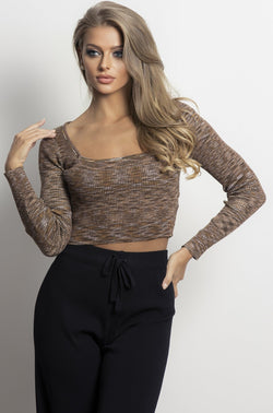 Expresso Knit- Chocolate.