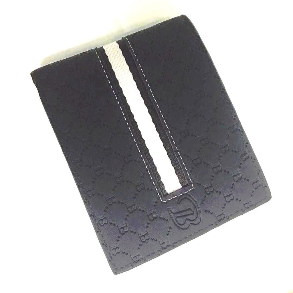 Men's Leather Wallet with Mantra
