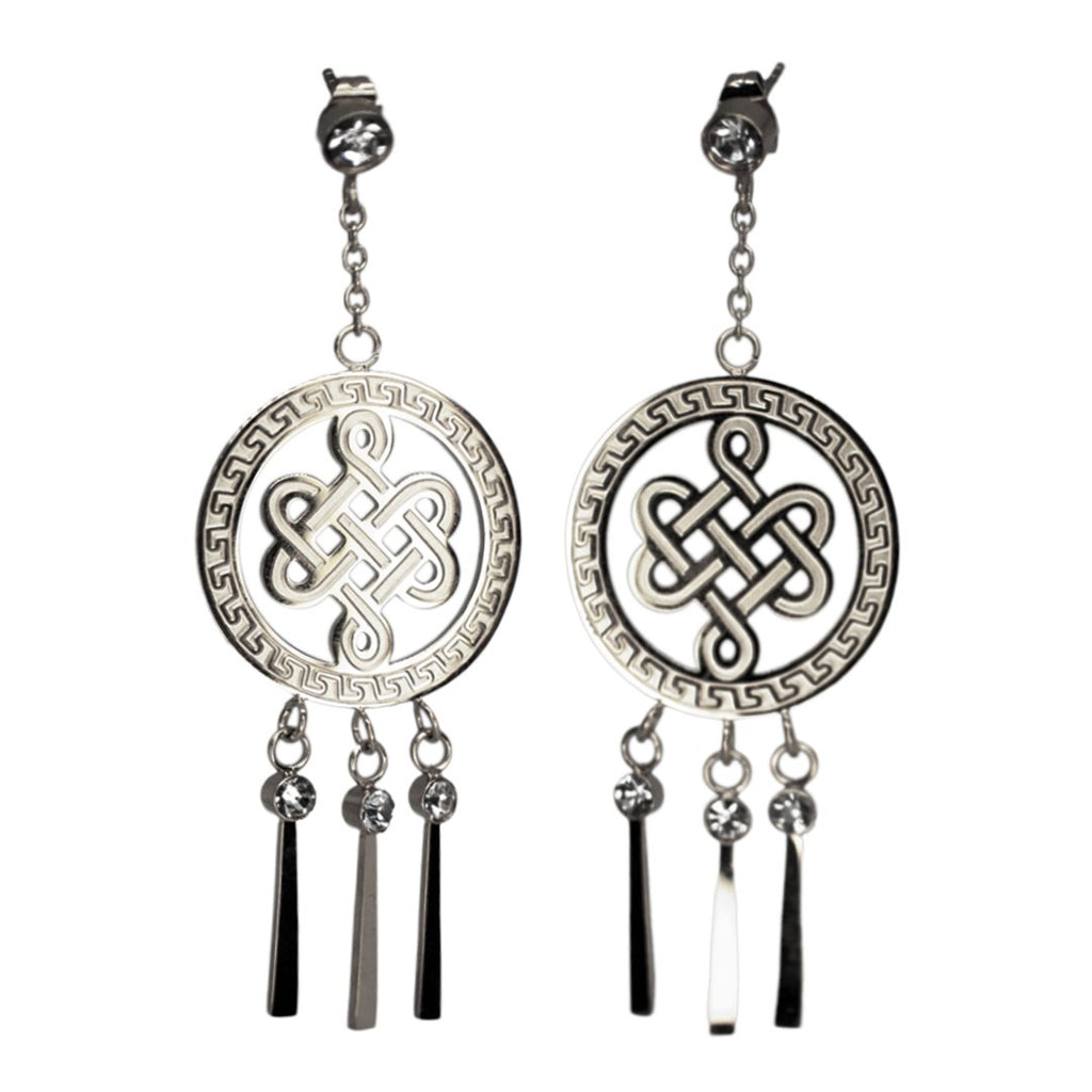 Dangling Earrings Mystic Knot