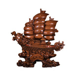 BROWN DRAGON BOAT (BIG) (A59)