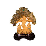 GOLDEN WEALTH TREE WITH WU LOU (BIG) (A12)