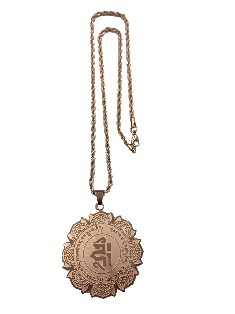 MEDALLION FOR HEALTH & LONGEVITY (ROSE GOLD)