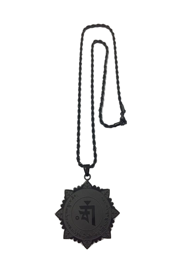 MEDALLION FOR PHYSICAL & SPIRITUAL PROTECTION (BLACK)