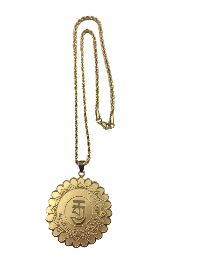 MEDALLION FOR POLITICS MANTRA (GOLD)