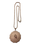 MEDALLION FOR POPULARITY & ATTRACTIVENESS (ROSE GOLD)