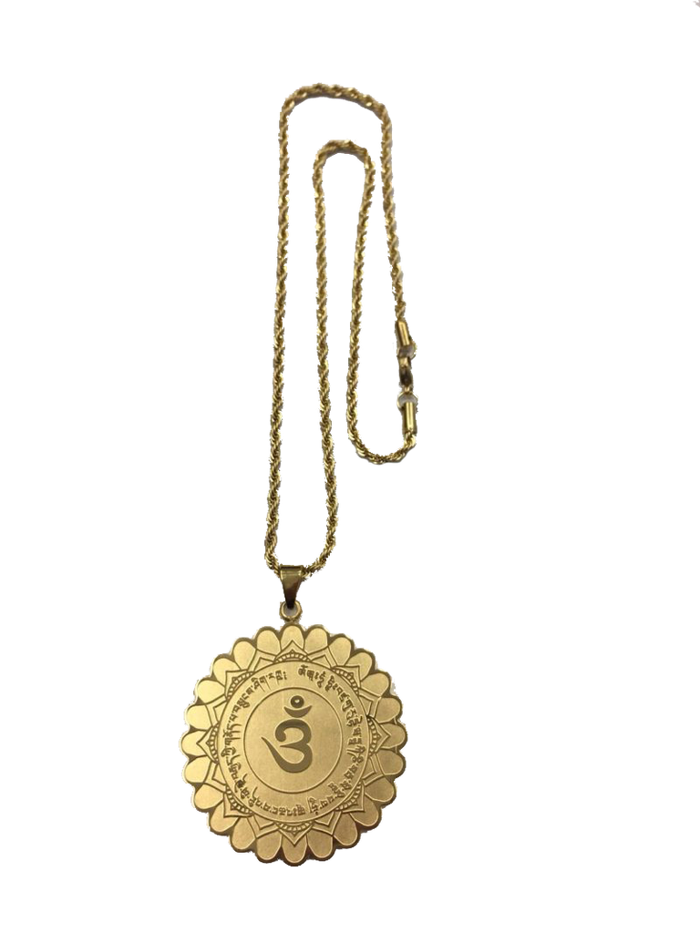 Medallion for Protection from Evil Spirits - Gold