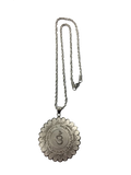 MEDALLION FOR PROTECTION FROM EVIL SPIRITS (SILVER)