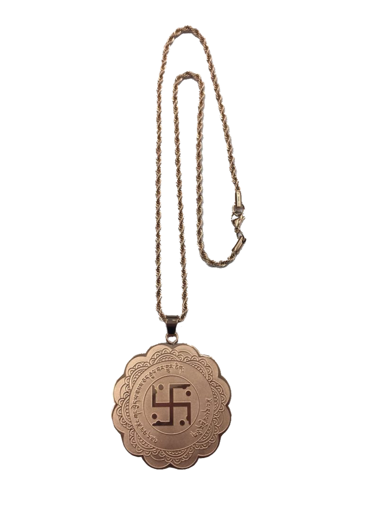 MEDALLION FOR VICTORY & SUCCESS (ROSE GOLD)