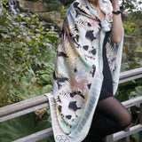 Victory Horse Shawl for Business and Relationship Success