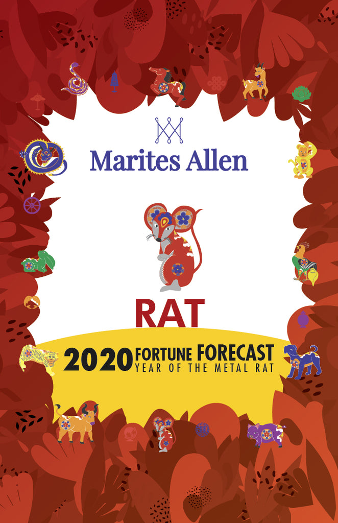 Marites Allen Horoscope Book 2020 - Rat