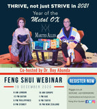 2021 Marites Allen Feng Shui Global Webinar - Year of the Metal Ox