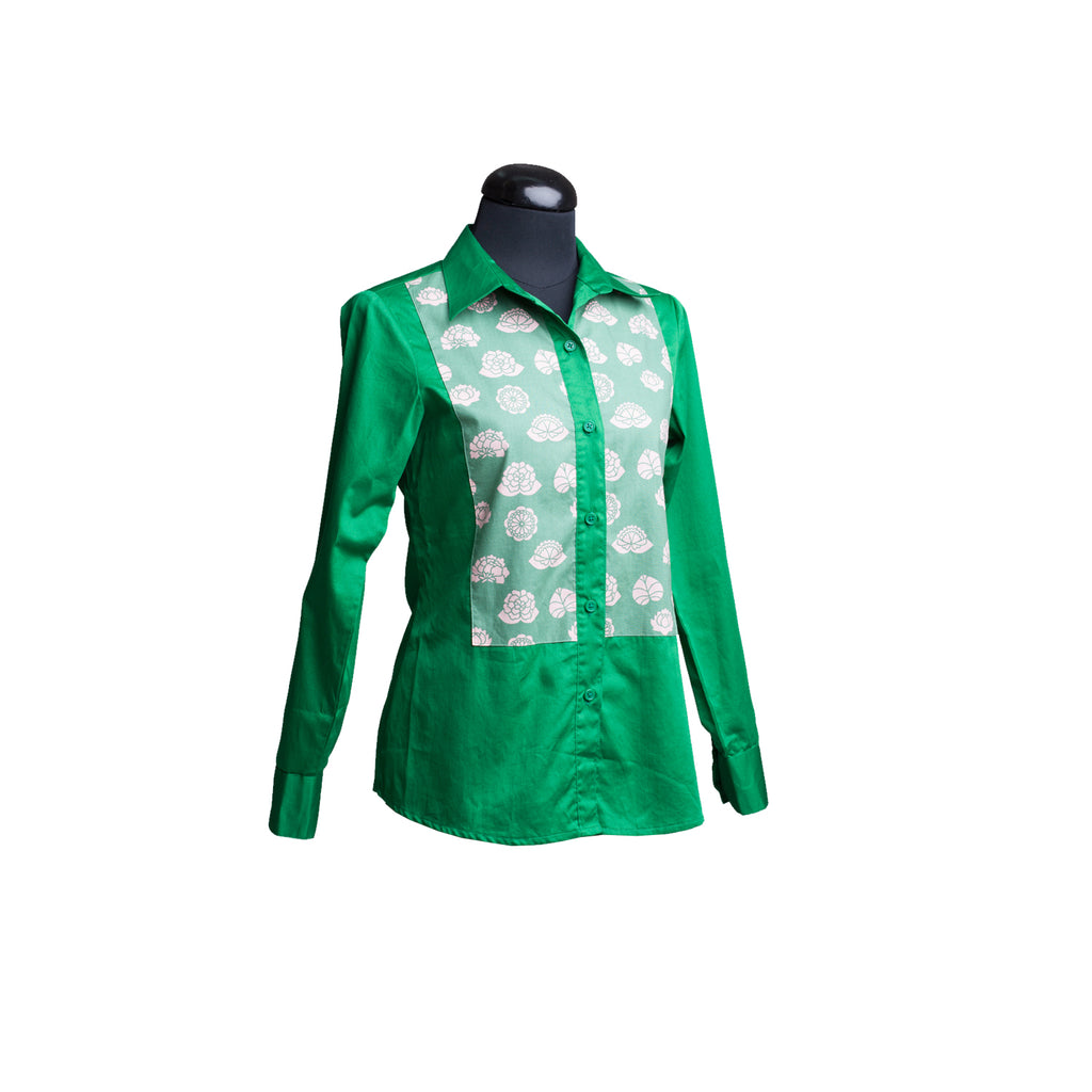 Corporate Shirt Green