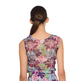 Cowl Neck Top - Floral
