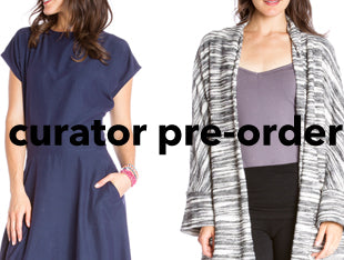 Pre-Order Curator items for Fall.