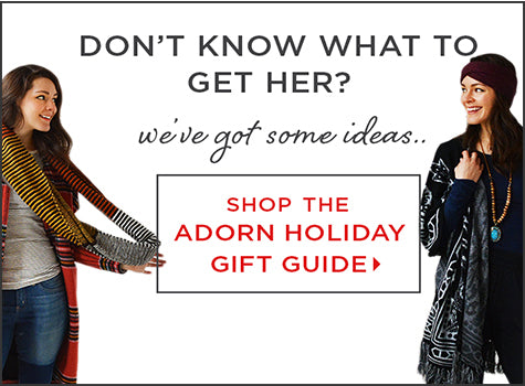 Shop the Adorn Holiday Gift Guide