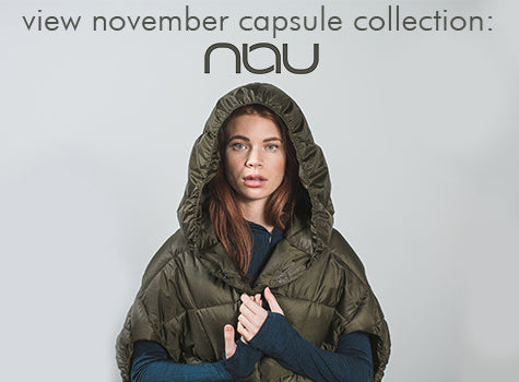 Shop November Capsule Collection: Nau