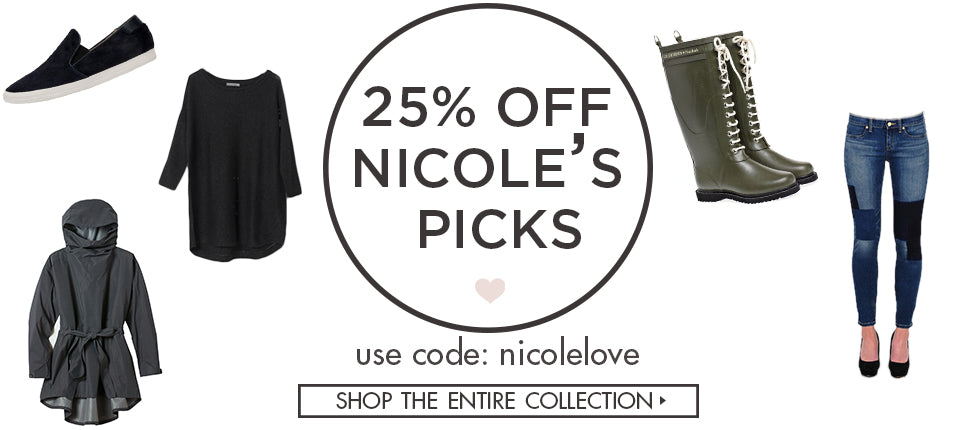 Shop Nicole's Picks at 25% Off