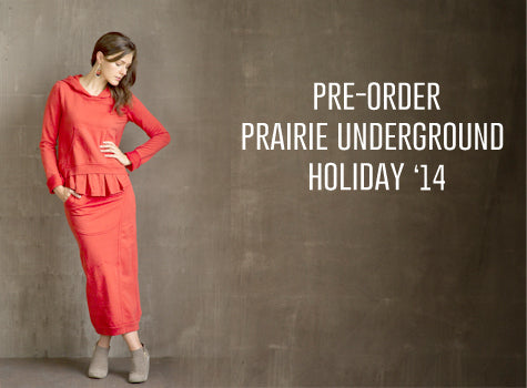 Pre-Order our Prairie Underground Holiday items