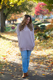 Shine L/S Oversized Slouchy Top