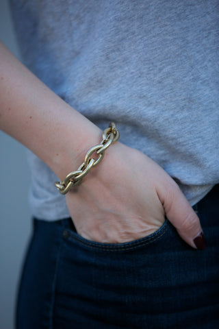 THE GIVING KEYS Never Ending Key Bracelet