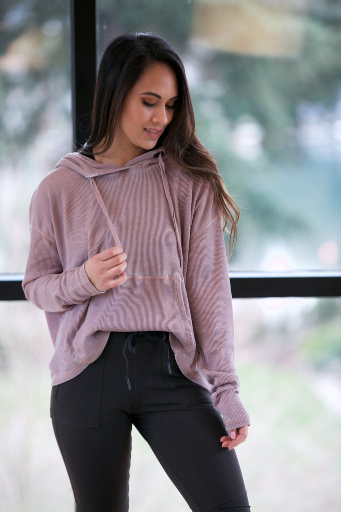 The Shannon Top Dusty Pink