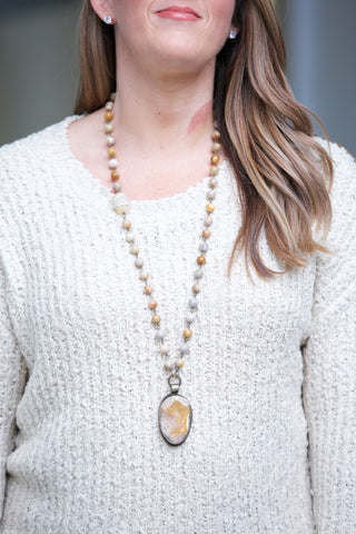 CHAN LUU Layered Short Necklace