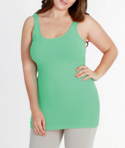 Niki Biki Plus Size Long Camisole - FINAL SALE