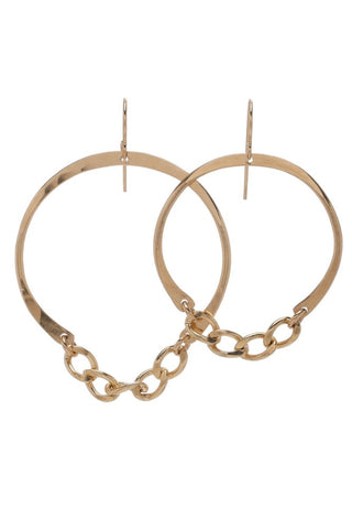 Jenny Bird Large Quinn Hoops