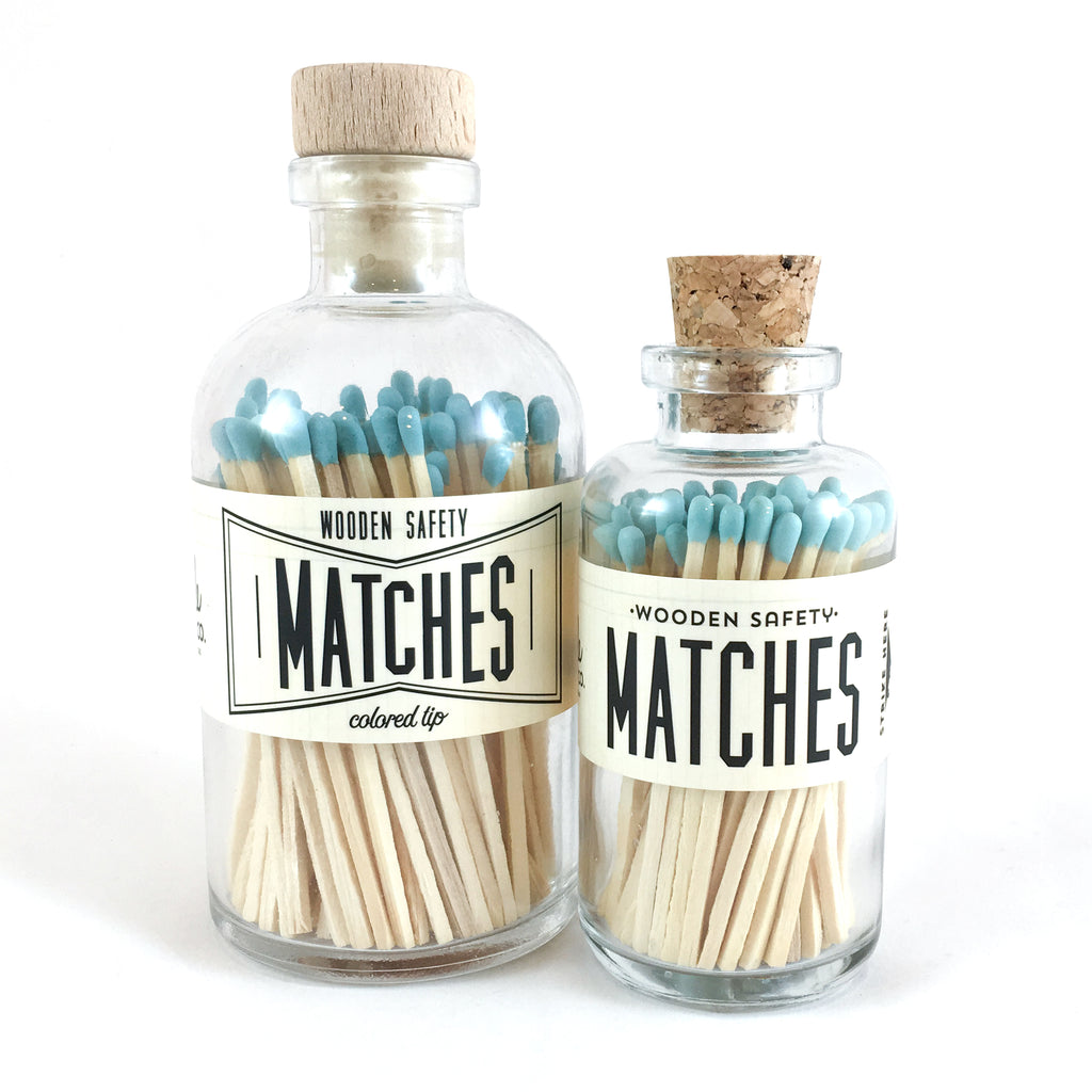 Made Market Co. - Teal Vintage Apothecary Matches