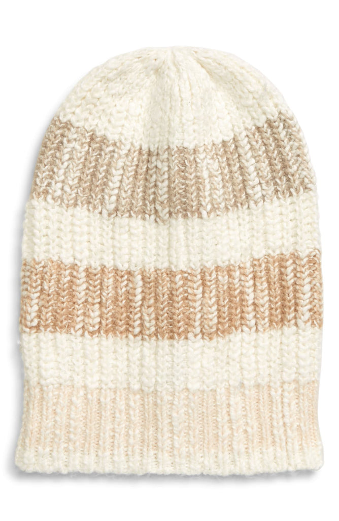 Free People Cozy In Stripes Beanie