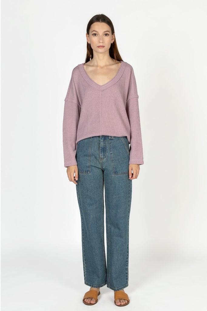 MOD REF The Kayson Top Lavender