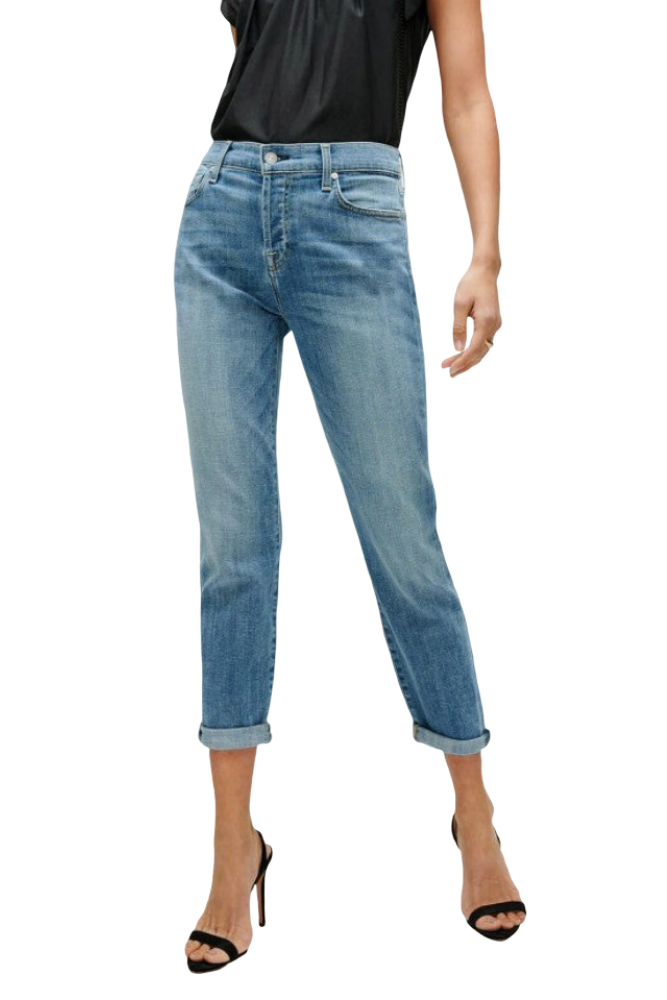 7 for All Mankind Josefina in BLBT Bright Light Broken Twill